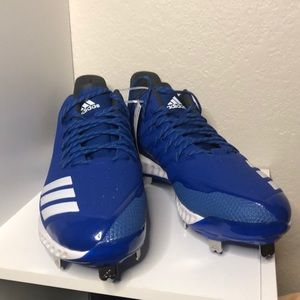 Adidas Blue Icon Bounce Cleats